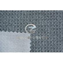 Granular Pile Velvet Bonded Knitted Fabric for Sofa Use