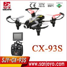 Cheerson New CX-93S 5.8Ghz FPV Drone con cámara 2.0MP (720P) hd Best Flying Quadcopter 100m Distance 6 Axis Gyro RTF Mini Drone