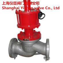 Válvula de globo de Operatded hidráulico de J741h de aço Wcb fundido