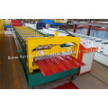 Trapezförmige Dachblech Blechumformmaschine