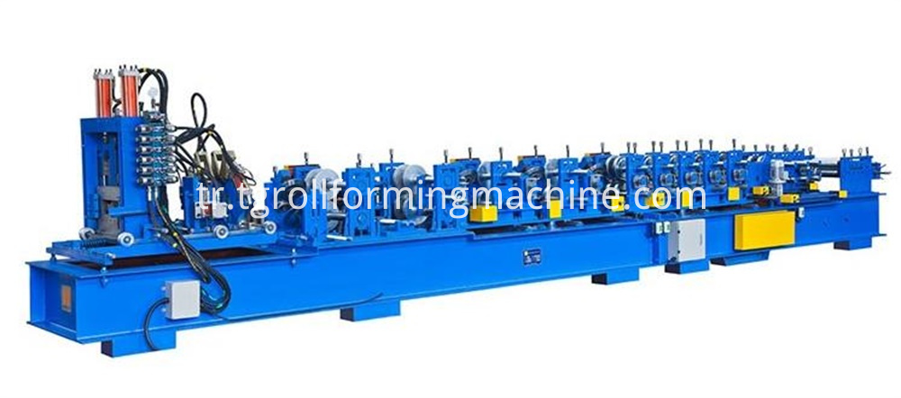 T Shape Guiderail Roll Forming Machine