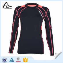 Lady Customized Blank Compression Shirts