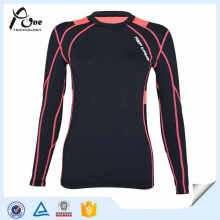 Lady Customized Blank Compression Shirts