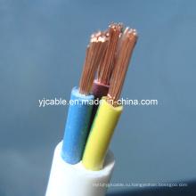 3-жильный кабель с круглой оболочкой (RVV)