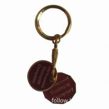 Coin Keychain, High Efficiency, Plastic Material also Available