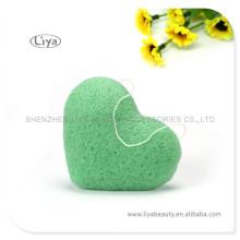 Green reiner Soft Facial Schwamm Probe ist verfügbar