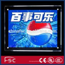 Intelligente Beleuchtung Werbung led Kristall-Licht-box
