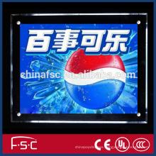 Smart lighting advertising led crystal light box