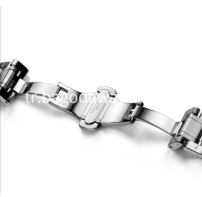 Stainless Steel Clasp Bands