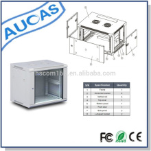 high quality server cabinet 2u/4u/9u for computer room application