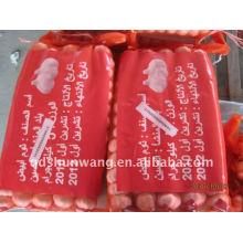 Shandong jining chinesischen weißen Knoblauch