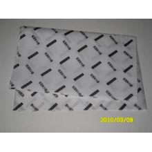 17GSM que envolve o lenço de papel com venda por atacado do logotipo da impressão