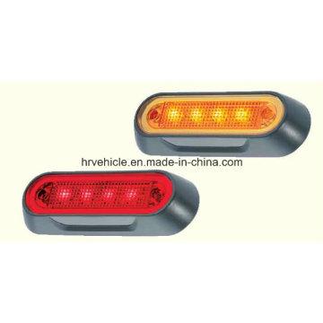 Lampe de marque latérale, lampe de signalisation, lampe témoin