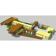 Graceful Appearance Cheap Structural Steel Container HouseNew