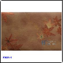 High Gloss Golden Patterns Decorative PVC Film (FX01-1)