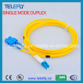 LC-Sc Duplex Single Mode Fibre Patch Cord