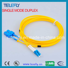 LC-Sc Duplex Single Mode Fiber Patch Cord