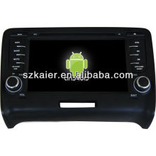 Android System car dvd player for Audi TT with GPS,Bluetooth,3G,ipod,Games,Dual Zone,Steering Wheel Control