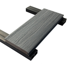 Decking do Wpc, Decking Co extrudado, Decking composto plástico expulso