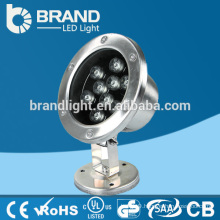 IP68 High Quality 12V 9X1W 9W Underwater LED Light,CE RoHS