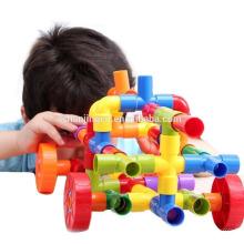Fabricante de Aprendizagem Mentes Mega Modz Tub Nova Moda Não-tóxico brinquedos De Plástico para crianças com Recipiente De Armazenamento de Presente de Natal