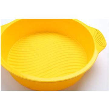 Yellow Cake Pan Food Grade Silicone Cake Tool