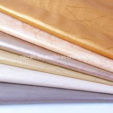 Relámpago patrón de cuero de la PU para la decoración