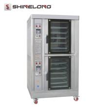 K668 Stainless Steel 10 Tray Forno elétrico de convecção comercial