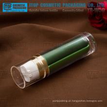 YB-W50 50ml (25 ml x 2) popular e exclusivo de alta qualidade camadas dobro dia e noite creme duplo frasco plástico