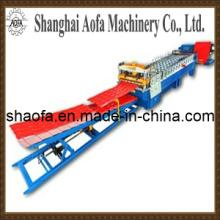 Metalldachziegel-Rolle, die Maschinerie bildet (AF-G1025)