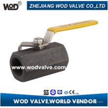 1-PC Hexagonal Carbon Steel Ball Valve