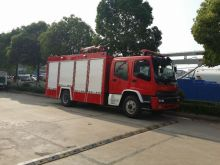 ISUZU 4 x 2 छोटे आग ट्रक