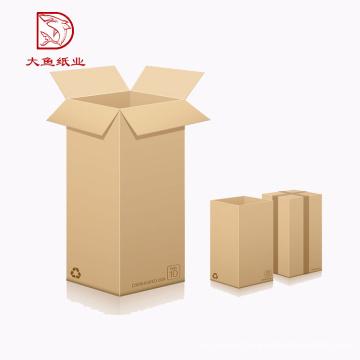 Customized size fashion recyclable paper carton wine box