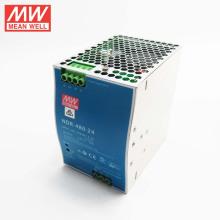 MEANWELL 75w a 480watt delgado y económico NDR serie interruptor de montaje en carril DIN fuente de alimentación 24VDC 20a con ul ce NDR-480-24
