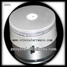 A accueilli la base légère en plastique de LED pour le cristal