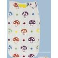 Saco de dormir del bebé de la muselina del algodón 100% / sacos el dormir del bebé con 6 capas de gasa