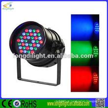 LED Par 64 alta potência RGB 36 x 3W preto dmx efeito efeito de palco
