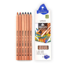 ANDSTAL Marco 4 colors in 1 Color Pencils Set Kids 6pcs/box Rainbow  Drawing Natural Color Pencil For Kids Drawing