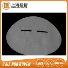 Tencel tissu masque facial chimique soie masque facial feuilles