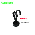 Leather PU Covered Z Shape Jewelry Metal Earring Stand