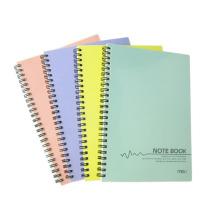 PP Cover Spiral Book avec 55 feuilles