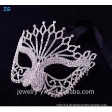 Fantastische Kristall voller Gesichtsmaskerade Maske, coole Augenmaske, Neon Party Maske