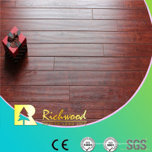 12mm E0 HDF AC4 en relieve Hickory impermeable laminado piso