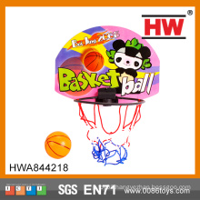 Top quality children plastic small plastic basketball