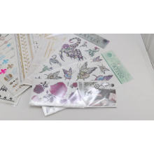 Myway Stock 15*21cm waterproof large size 3D temporary tattoo sticker for arm