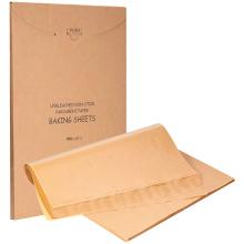 12 X 16 Zoll Antihaft vorgeschnittene ungebleichte Pergament Backpapierblätter zum Grillen Luftfritteuse Dampfgarofen