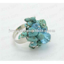 Wrap Rings with Turquoise Chip stone