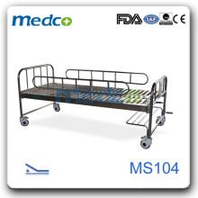 Одна функциональная ручная больничная койка MS104