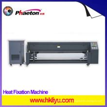 Chauffage de l'imprimante de textile, de polyester, de drapeau pour le transfert de sublimation, Machine de fixation de chauffage (HF-1800N)