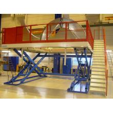 Plataformas de trabalho com elevador de tesoura